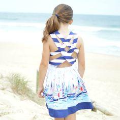 Summer Dress PDF Pattern by BubbyAndMeCreations on Etsy