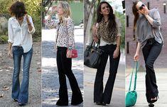 Como Usar: Calça Jeans Flare (Boca-de-Sino) | Just Lia