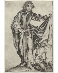 Buy online, view images and see past prices for Martin Schongauer - St. Invaluable is the world's largest marketplace for art, antiques, and collectibles. Martin Schongauer, Empire Romain, Fine Art Prints, Canvas Prints, Late Middle Ages, Saint Martin, Art Graphique, 15th Century, Religious Art