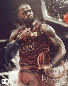 The Cavs steal game one tonight and beat the Raptors LeBron recorded his Career Playoff triple double finishing with 26 Points 11 Rebounds and 13 Assists. Oh and knocked down the game tying shot to send the game into OT. Lebron James Cleveland, King Lebron James, King James, Basketball Games Online, New York Basketball, Basketball Birthday, College Basketball, Lebron James Wallpapers, Nba Wallpapers
