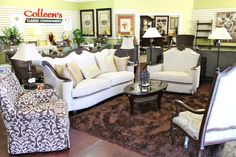Aico/Michael Amini Victoria Palace Sofa & Chair ½ - Colleen's Classic Consignment, Las Vegas, NV - www.cccfurnishings.com