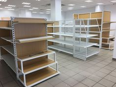gondola shelving, shop shelving with timber back and timber infill back, more items @ Linkup Store Equipment Co., Ltd.