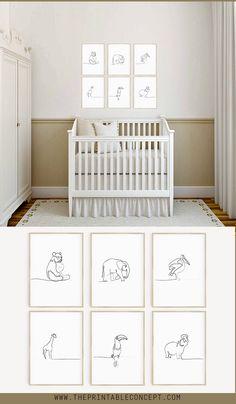 Animal Nursery Prints by The Printable Concept. Minimalist and stylish, perfect … Animal Nursery Prints by The Printable Concept. Minimalist and stylish, perfect for a gender neutral nursery. Black Floating Shelves, Reclaimed Wood Floating Shelves, Floating Shelves Bedroom, Floating Shelves Kitchen, Rustic Floating Shelves, Shelves Under Tv, Shelves Above Couch, Entertainment Center, Tv Ikea