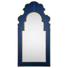 "Bunny Williams for Mirror Image Home Sapphire Mirror @Layla Grayce | 27""w x 54""h | 1,469.00"