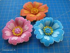 Мастер-класс Бумагопластика: Цветы. Картон. Фото 1
