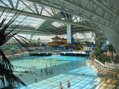 West Edmonton Mall, Edmonton Alberta- When we went there in 1999, it was the largest mall in the world!  Bigger than MOA!