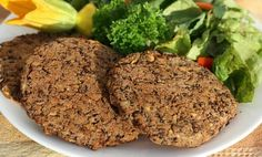 Vegan Black Bean Burgers with Cream Sauce | Care2 Healthy Living