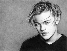 Leonardo DiCaprio by ~phoenix132 on deviantART  | First pinned to Celebrity Art Board here- http://pinterest.com/fairbanksgrafix/celebrity-art/  #Art #CelebrityArt