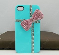 iphone 5 case iphone 4 case pink bows gifts case HTC by dnnayding, $17.99