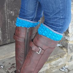 Get your boots on! It s time to accessorise with these fun and easy bobble boot cuffs. They tuck neatly into your boots or wellies and not only look fabulous but keep your legs warm too. A great gift and a great yarn stash buster. Crochet Winter, Yarn Stash, Boot Cuffs, Oxford Shoes, Crochet Patterns, Great Gifts, Dress Shoes, Legs, Boots