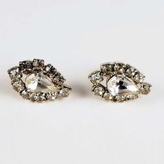 Vintage Glam Rhinestone Earrings, $27, now featured on Fab.