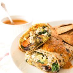 Vegan Breakfast Burritos l The Simple Kitchen