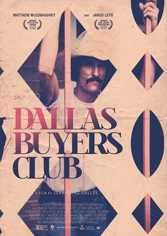 Alternative movie poster for Dallas Buyers Club. #Poster #DallasBuyersClub