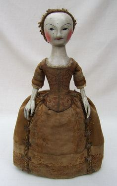 What do you think? Is this William and Mary period doll 300+ years old, or a 30-day Old Pretender?