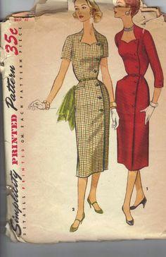 1950s Simplicity 1685