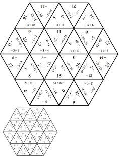 Adding Integers Coloring Worksheet Sketch Coloring Page