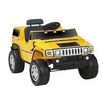 6V Hummer H2 Yellow