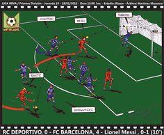 LIGA BBVA 2014-15 - RC Deportivo, 0 - FC Barcelona, 4 - Lionel Messi, 0-1 (10')