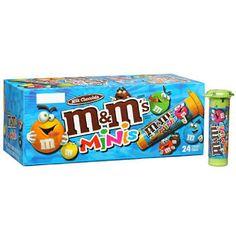 M&M's® Mini Candies - 1.08oz tubes - 24 ct.