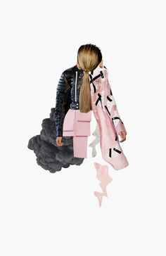 20 Amazingly Creative Fashion Collages | StyleCaster