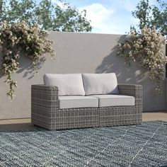 Joss And Main Furniture, New Furniture, Outdoor Seating, Outdoor Decor, Outdoor Sofas, Patio Chairs, Wicker, Rattan