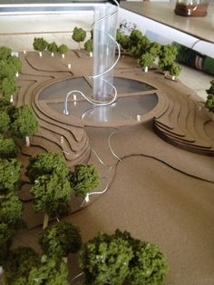 Honors Landscape Architecture Students Recognized in Design Competition #model #physicalmodel: