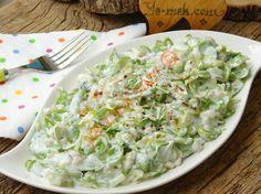Yoğurtlu Buğdaylı Semizotu Salatası Resmi