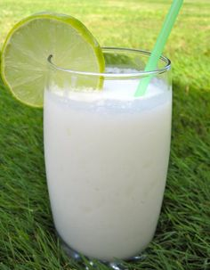 coconut limeade - sounds sooo delicious & would make a refreshing Easter drink