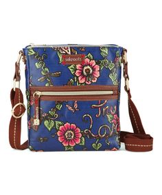 Take a look at this Sakroots Indigo True Love Tablet Crossbody Bag on zulily today!