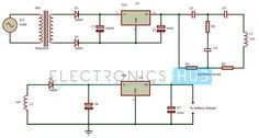 Wireless Power Transfer Circuit Diagram
