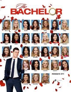 Meet The Bachelor 2016 Contestants TheBachelor Abccola Owly WBIYf