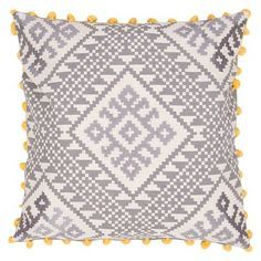 Jaipur Traditions Made Modern Decorative Pillow - Grey