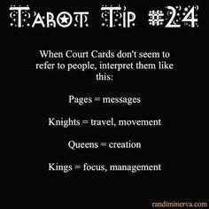 Tarot tip 24