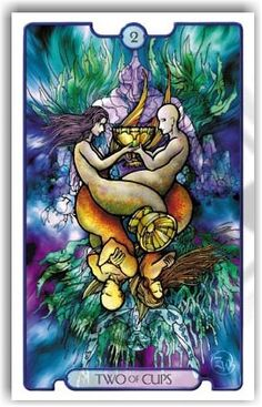 Revelations Tarot Two of Cups - Pesquisa do Google