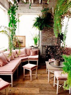 Boho lounge room