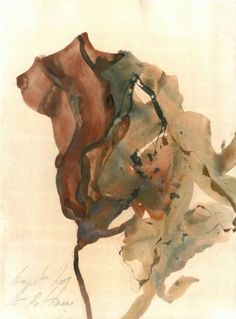 "Saatchi Art Artist Ute Rathmann; Painting, ""Hommage à Emil Nolde VIII"" #art"
