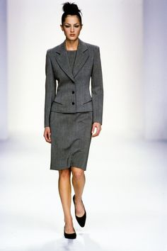 Calvin Klein Collection Fall 1995 Ready-to-Wear Fashion Show - Chandra North