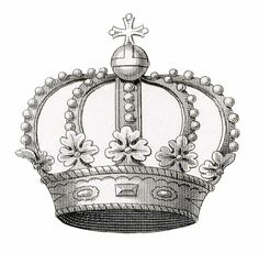 Vintage Crown Image Download - The Graphics Fairy