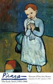 Boy with a bird - Picasso