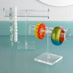 Acrylic Jewelry Stands   The Container Store