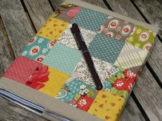 Urban Cowgirl Journal Cover - love this range from Moda!!