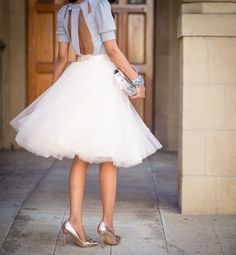 Space 46 Boutique tulle skirt