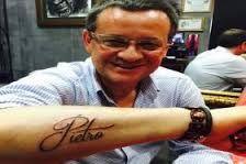 Resultado de imagem para ideias para tatuar nome de filho