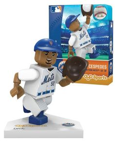 New York Mets YOENIS CESPEDES Limited Edition OYO Minifigure