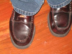 Penny Loafers with pennies