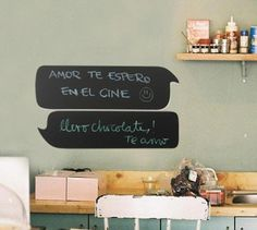 Chat chalk board