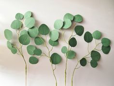 Paper eucalyptus − handmade by Ameli's Lovely Creations