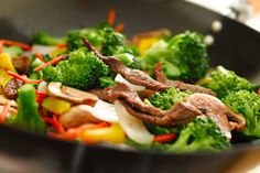 Stir-Fried Beef with Mushrooms and Eggplant | The Dr. Oz Show