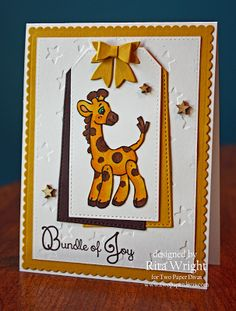 Bundle of Joy - Stamp by Two Paper Divas - Cards by Rita