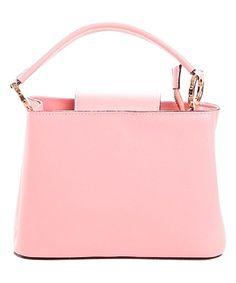 Pink Leather Mini Satchel Fab Bag d31204b3add0a